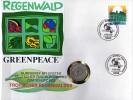 Numisbrief UN-Umweltkonferenz 1982 Numisletter Bundesbank 5DM Plus BRD 1615 O 24€ Tropische Wald Nature Cover Of Germany - [ 7] 1949-… : RFA - Rép. Féd. D'Allemagne