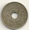 France 25 Centimes 1918 KM#867a - Francia
