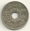 France 25 Centimes 1922 KM#867a - Francia
