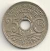 France 25 Centimes 1929 KM#867a - Francia