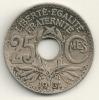 France 25 Centimes 1931 KM#867a - Francia