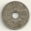 France 25 Centimes 1932 KM#867a - Francia
