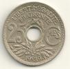 France 25 Centimes 1939 KM#867b - Francia