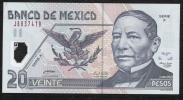 MEXICO  P116e  20  PESOS  9.11.2005     XF/AU - Mexico