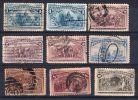 1893, 4e Centenaire De La Découverte , YT No. 81, 82, 84, 85, 87 + 88, Voir Scan, Oblitéré, Lot 32029 - Used Stamps