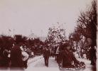 Photo Ancienne Février 1902 Nice Carnaval Char - Fotos