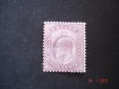 Ceylon  1904  K.Edward VII   5 Cents       SG280  MH - Ceylon (...-1947)