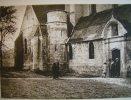L'église De Picquigny Somme 1932 , Héliogravure Sur Papier Velin - Vieux Papiers