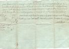 LIMOGES  - Reçu De Cruvelhier  à Magnac 17 Janvier 1789 Rente Foncière Gourserol Tenement De Nabouilleras - Manuscrits