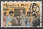 MAURICE  N°612__OBL VOIR SCAN - Mauritius (1968-...)