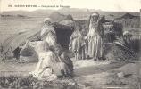 ALGERIE - SCENES ET TYPES- CAMPEMENT DE NOMADES - Scènes & Types