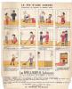 """Tract 20x25 """" Fin D'une Corvée """" - Reluiseul Johnson, Cire Parquet Dessin -madame Untel - Publicités"""