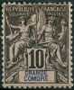 Grande Comore (1897) N 5 * (charniere) - Grote Komoren (1897-1912)