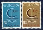#D1647. Iceland 1966. Michel 404-05. Cancelled(o) - 1944-... Republik