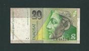 20  KORUN  Della  Slovenia  - Anno  2001. - Slovénie
