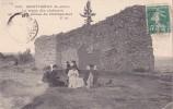 91 - MONTLHERY - Le Repos Des Visiteurs Au Pied Des Ruines Du Château-fort - Montlhery