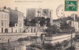 Dép. 79 - NIORT. - Vue Sur La Sèvre Et Le Donjon. Voyagée 1913 - Niort