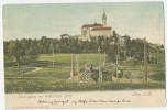 Linz A. Donau Pöstlingberg Electrische Bahn Bergbahn Pöstlingbergbahn Farbig C. 1904 - Austria