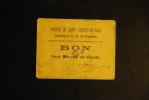 Rationnement - Société De St Vincent De Paul - Bon De Viande - Tonneins - Bonds & Basic Needs
