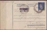 YUGOSLAVIA - JUGOSLAVIJA   -   TITO  CARD  OVPT On 10 Din - 1954 - Yugoslavia