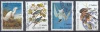 France YT N°2929/2932 Les Oiseaux De J.J. Audubon Oblitéré ° - Gebraucht