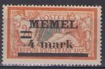 MEM 11 - MEMEL Merson N° 31 Type 2b Neuf* - Memel (1920-1924)