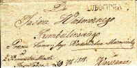 POLAND Prephilatelic Cover LUBOCHNIA 1818 In Black - Polen