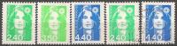 FRANCE - Yvert - 2820/22** + 2820 Et 2822 - Cote 5.75 € - 1989-96 Marianna Del Bicentenario