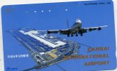 TELECARTE DU JAPON...AVION... VOIR SCANNER - Vliegtuigen