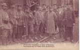 ETTERBEEK = Prisonniers Français à La Gare (edit. Vve S. Theys, Bruxelles - Repr. Interdit - - Etterbeek