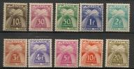 FRANCE - Timbres N°78 à 87 Neufs Sans Charnière - 1859-1955 Mint/hinged