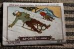 Chromo - Image Du Chocolat Peter,Cailler,Kohler,Nestlé: Les Sports : La Luge - Nestlé