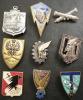 LOT DE 9 INSIGNES DIVERS - Badges & Ribbons