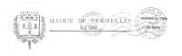 Ruche, Abeille, Chêne, Laurier, Blason, Pas De Calais, Vermelles, Mairie, Classe Ouv Erte - Env Entière (J277) - Abeilles