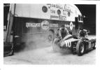 Lancia Team In The Paddock  -  Pau Grand Prix  -  1955 - Grand Prix / F1
