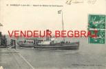 PAIMBOEUF      DEPART DU BATEAU DE ST NAZAIRE - Paimboeuf