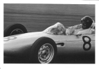 Dan Gurney  -  Porsche  -  German GP  -  Nurburgring  -  1962  -  CP - Grand Prix / F1