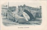 CROWLAND ... OLD BRIDGE - Angleterre