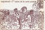 CPM ILLUSTRATEUR PAUL DUFLOT Dédicacée Salon D' Argenteuil 1985 THEME VENDANGES CPM N°624/1500 Ex - Borse E Saloni Del Collezionismo