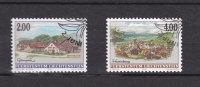 LIECHTENSTEIN  1998    N°1119 - 1120       OBLITERES - Liechtenstein