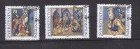 LIECHTENSTEIN  1998    N°1129 à  1131       OBLITERES - Liechtenstein