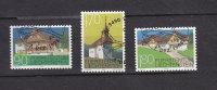 LIECHTENSTEIN  1998    N°1125 à 1127       OBLITERES - Liechtenstein
