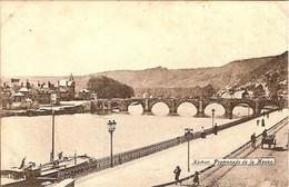 NAMUR-PROMENADE DE LA MEUSE -rails Du Tram - Namur