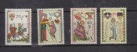 LIECHTENSTEIN  1962    N°357 à 360    NEUFS** - Liechtenstein