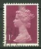 GRANDE BRETAGNE - N° YT 606a Oblit - 1952-.... (Elizabeth II)