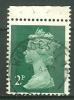 GRANDE BRETAGNE - N° YT 608A Oblit - 1952-.... (Elizabeth II)