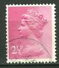 GRANDE BRETAGNE - N° YT 609 Oblit - 1952-.... (Elizabeth II)