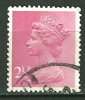 GRANDE BRETAGNE - N° YT 609a Oblit - 1952-.... (Elizabeth II)