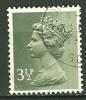 GRANDE BRETAGNE - N° YT 611 Oblit - 1952-.... (Elizabeth II)