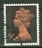 GRANDE BRETAGNE - N° YT 616 Oblit - 1952-.... (Elizabeth II)